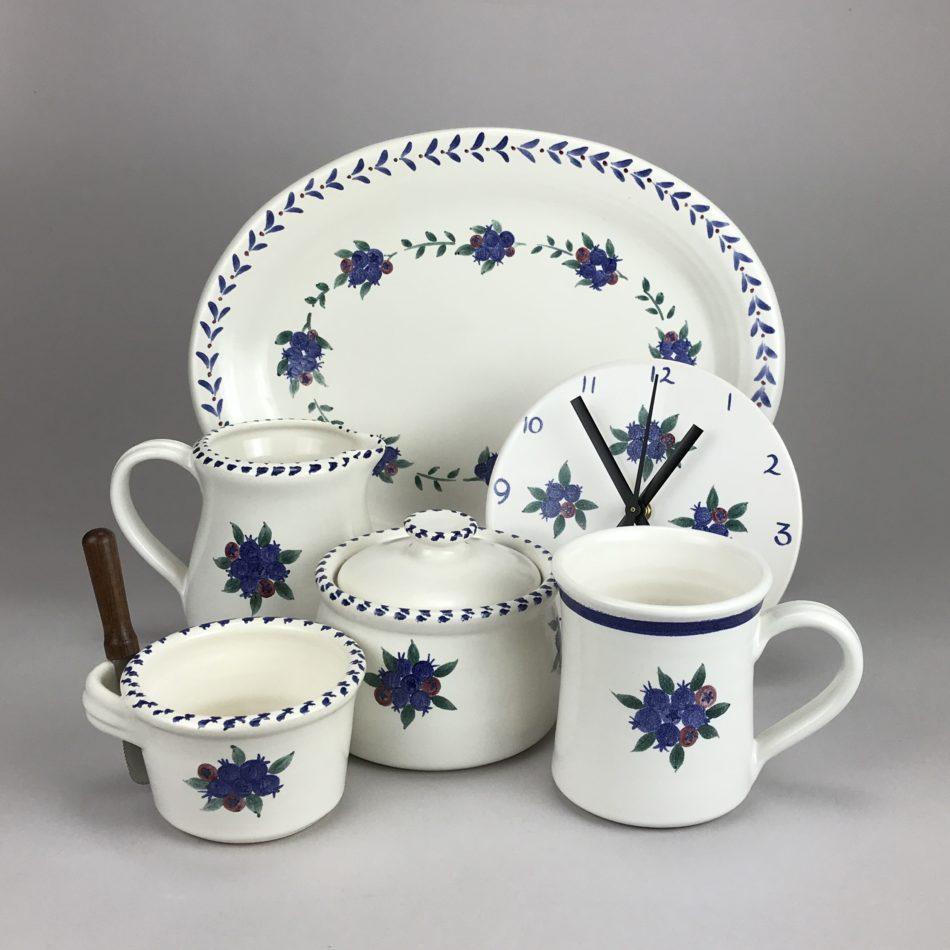 Columbia Falls pottery