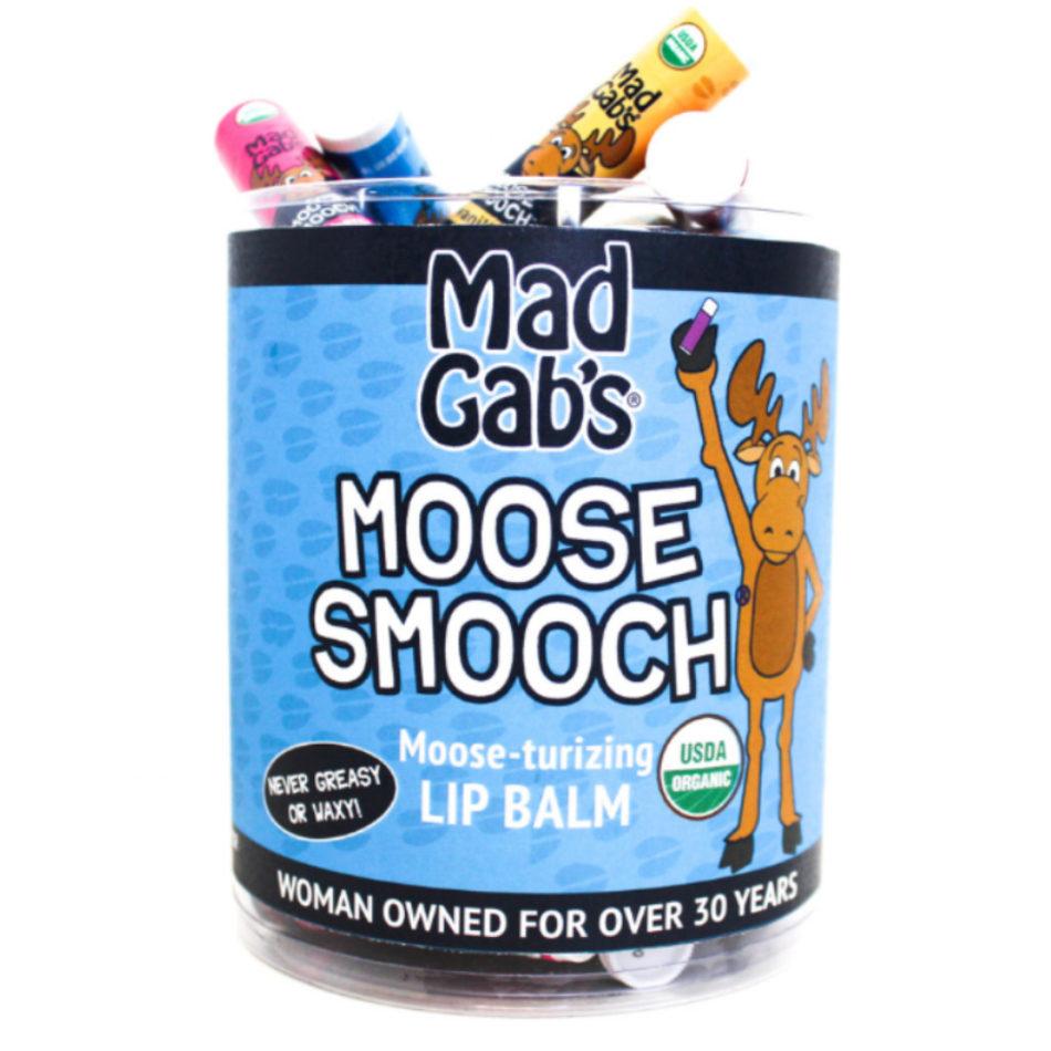 Mad Gabs Moose Smooch 72 Piece Bin for Retailers