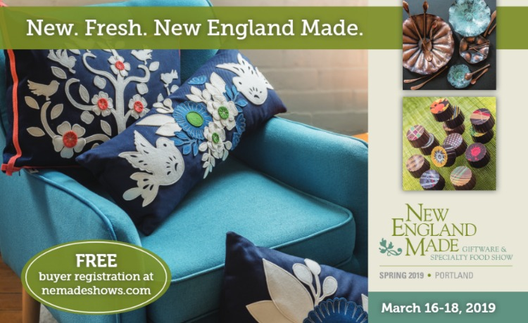 New England Giftware & Specialty Food Show – Maine Made
