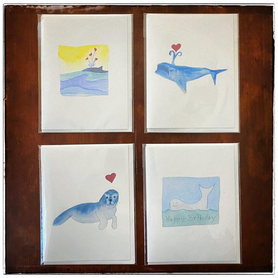 Sea Life Cards