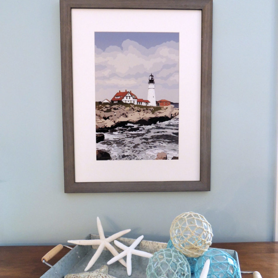 Portland Head Light - Poster Print